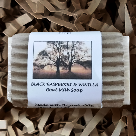 Black Raspberry & Vanilla Goat Milk Soap - Lampasas, TX